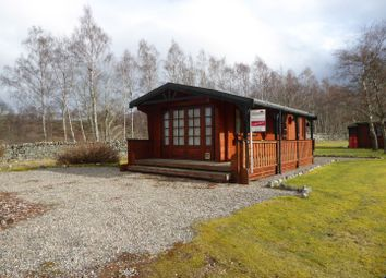 Thumbnail 2 bed mobile/park home for sale in Invernahavon Chalet Park, Newtonmore