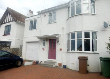 Thumbnail 5 bed semi-detached house for sale in Venn Crescent, Hartley, Plymouth