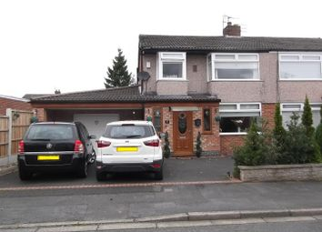 Thumbnail 3 bed semi-detached house for sale in Coylton Avenue, Rainhill, Prescot