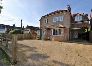 Thumbnail 4 bed detached house for sale in Dawes Lane, Snettisham, King's Lynn