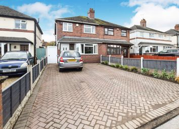 Thumbnail 3 bed semi-detached house for sale in Cedar Avenue, Stoke-On-Trent