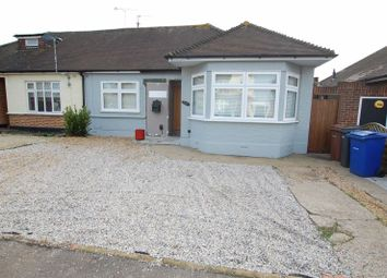 Thumbnail 2 bed semi-detached bungalow to rent in Grangewood Avenue, Woodside, Grays