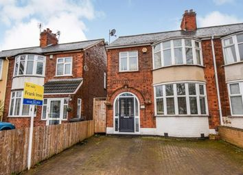 Thumbnail 3 bed semi-detached house for sale in Blackbird Road, Leicester, Leicestershire