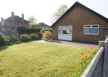 Thumbnail 3 bed detached bungalow for sale in Grange Road, Manchester