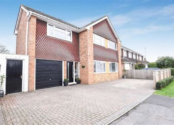 Thumbnail 5 bedroom detached house for sale in Kerrs Way, Wroughton, Swindon
