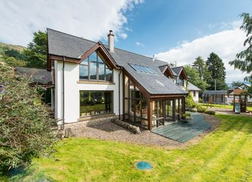 Thumbnail 4 bed detached house for sale in Coshieville, Aberfeldy