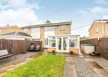 Thumbnail 2 bed semi-detached house for sale in Harold Wilson Drive, Hesleden, Hartlepool