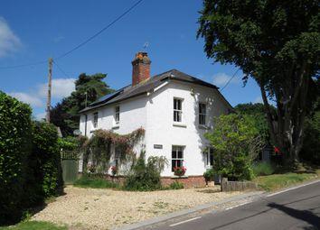 Thumbnail 4 bed detached house for sale in Alderholt Road, Sandleheath, Fordingbridge