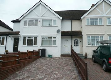 Thumbnail 2 bed terraced house to rent in Thrigby Road, Chessington, Surrey