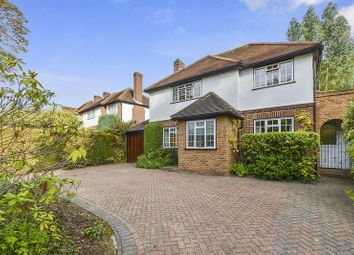 Thumbnail 4 bed detached house for sale in Green Curve, Nork, Banstead