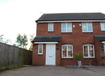 Thumbnail 3 bedroom semi-detached house for sale in Market Garden Close, Thurmaston, Leicester