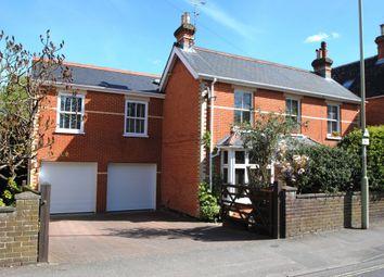 Thumbnail 5 bedroom detached house for sale in Aldershot Road, Fleet
