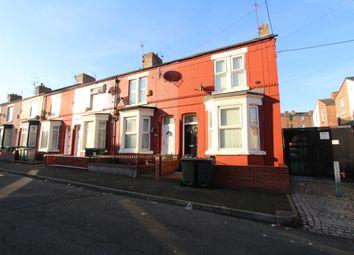Thumbnail 3 bedroom end terrace house to rent in Wycliffe Street, Rock Ferry, Birkenhead