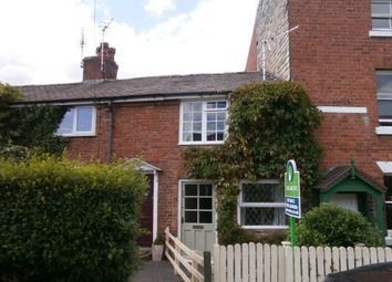 Thumbnail 2 bed terraced house to rent in Upper Brook Street, Oswestry
