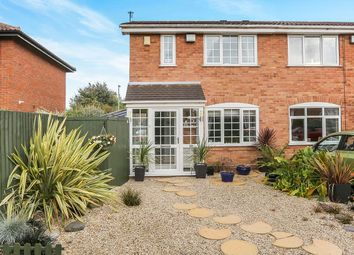 Thumbnail 3 bed semi-detached house for sale in Mallory Road, Perton, Wolverhampton
