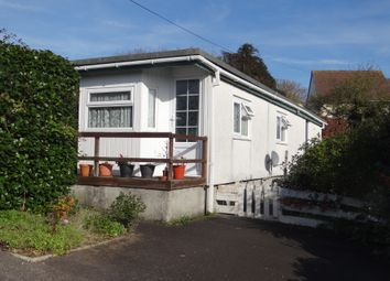 Thumbnail 2 bed mobile/park home for sale in The Crescent, St Austell