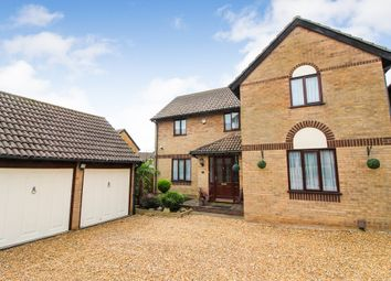 Thumbnail 4 bedroom detached house for sale in Aitken Close, Sprowston, Norwich