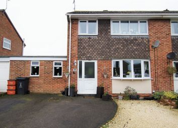 Thumbnail 3 bed semi-detached house for sale in Savill Crescent, Wroughton, Swindon