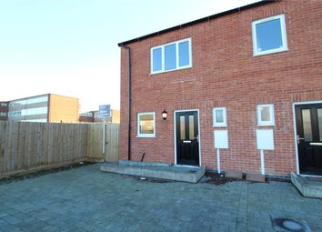Thumbnail 2 bedroom end terrace house for sale in Church Row, Grantham