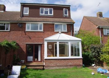 Thumbnail 4 bed semi-detached house to rent in Rowlings Road, Winchester