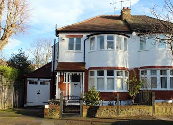 Thumbnail 3 bed semi-detached house for sale in Thirlmere Road, Muswell Hill, London