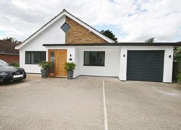 Thumbnail 3 bed detached bungalow for sale in Wretham Road, Great Hockham, Thetford