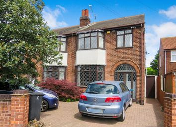 Thumbnail 3 bedroom semi-detached house for sale in Harrogate Road, Belgrave, Leicester
