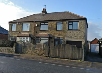 Thumbnail 4 bed semi-detached house for sale in Leeds Road, Dewsbury