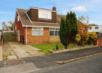Thumbnail 4 bed semi-detached bungalow for sale in Summergangs Drive, Thorngumbald, Hull