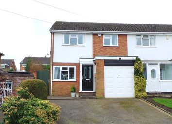 Thumbnail 3 bed town house for sale in Elmtree Road, Streetly, Sutton Coldfield