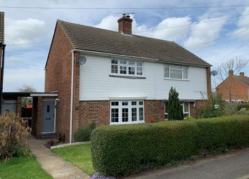 Thumbnail 2 bed semi-detached house for sale in Church Hill, Little Waltham, Chelmsford