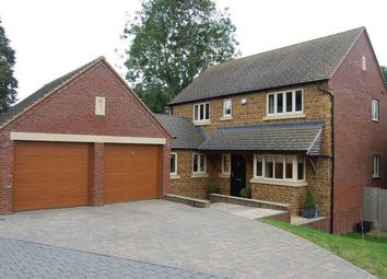 Thumbnail 4 bed detached house for sale in Pritchard Close, West Haddon, Northampton