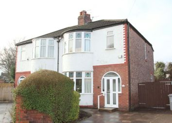 Thumbnail 3 bed semi-detached house for sale in Brentwood Crescent, Altrincham