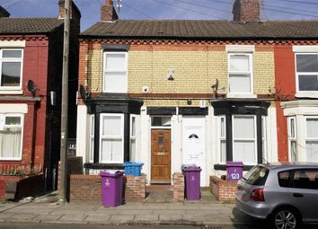 Thumbnail 2 bed terraced house to rent in Gloucester Road North, Anfield, Liverpool
