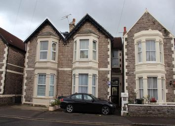 Thumbnail 2 bed flat to rent in Clevedon Road, Weston-Super-Mare, North Somerset