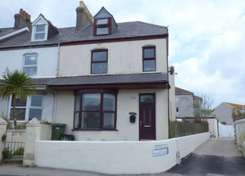 Thumbnail 4 bed end terrace house for sale in Trenance Road, Newquay