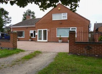 Thumbnail 7 bed detached bungalow for sale in Eastfield Road, Thurmaston, Leicester