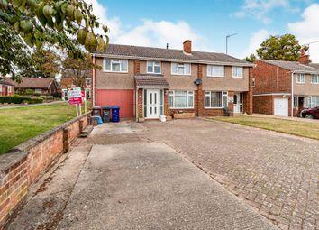 Thumbnail 4 bed semi-detached house for sale in Elmhurst Close, Haverhill
