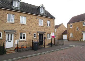 Thumbnail 3 bed property to rent in Howards Way, Northampton