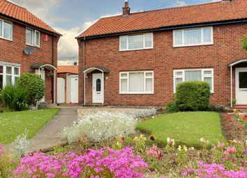 Thumbnail 2 bedroom semi-detached house for sale in Crosskill Close, Beverley