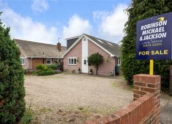 Thumbnail 4 bedroom detached bungalow for sale in Vigilant Way, Riverview Park, Gravesend, Kent