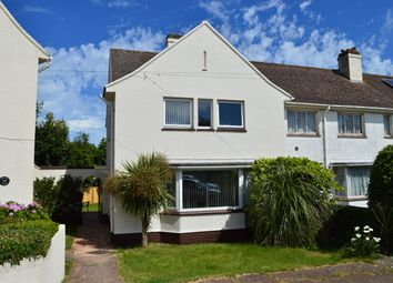 Thumbnail 3 bed end terrace house for sale in Happaway Road, Barton, Torquay