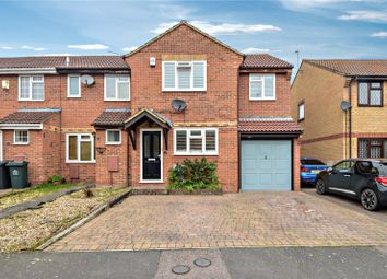 Thumbnail 3 bedroom end terrace house for sale in Steele Avenue, Greenhithe, Kent