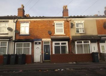 Thumbnail 2 bed terraced house for sale in Preston Road, Hockley, Birmingham, West Midlands