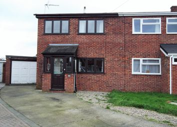 Thumbnail 3 bedroom semi-detached house to rent in Maple Close, Wymondham