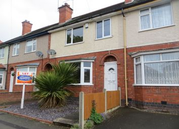 Thumbnail 3 bed terraced house to rent in Hollystitches Road, Nuneaton
