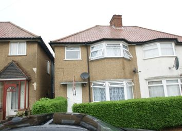 Thumbnail 3 bedroom semi-detached house to rent in Brent Way, Wembley, Greater London