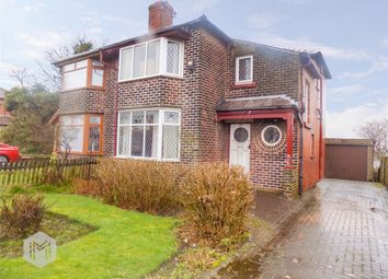 Thumbnail 3 bedroom semi-detached house for sale in Plodder Lane, Farnworth, Bolton, Lancashire