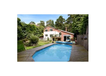 Thumbnail 4 bed detached house to rent in Goldney Road, Camberley