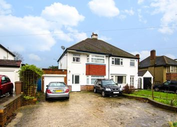 Thumbnail 4 bed semi-detached house to rent in Northey Avenue, Cheam